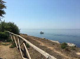 Uitzicht op zee in Marsala