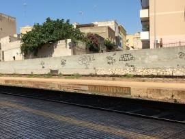 Treinstation van Marsala